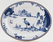 Woods Manchu Meat Dish or Platter c1929