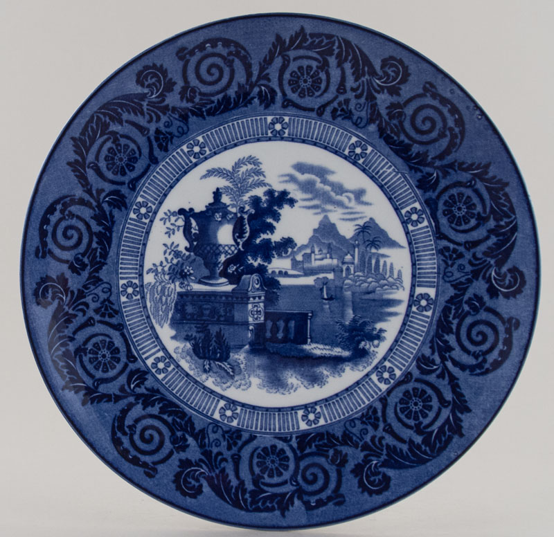 Woods Etruscan Vase Plate c1915