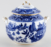 Royal Worcester Chinoiserie Sugar With Cover c1881