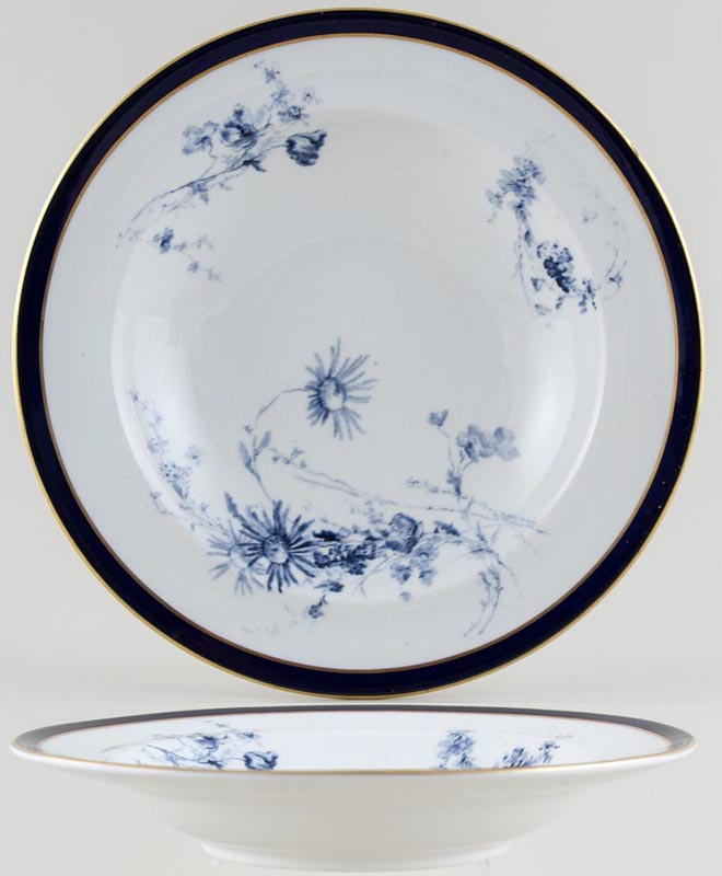 Royal Worcester Number W5132 Soup Plate c1898