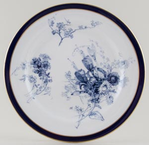 Royal Worcester Number W5132 Plate c1898