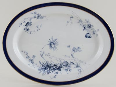 Royal Worcester Number W5132 Meat Dish or Platter c1898