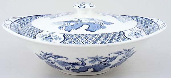 Woods Yuan Vegetable Dish with Cover c1950s