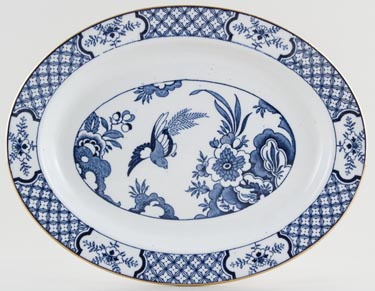 Woods Yuan Meat Dish or Platter c1920