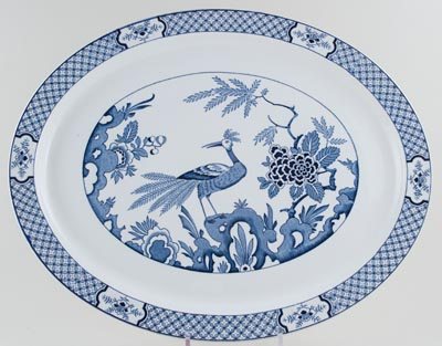 Woods Yuan Meat Dish or Platter c1930