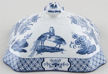 Woods Yuan Vegetable Dish Cover c1930s