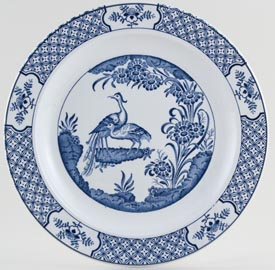 Woods Yuan Plate c1920s and 1930s