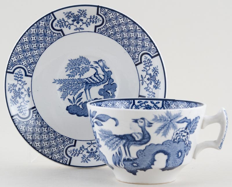 Woods Yuan Teacup and Saucer