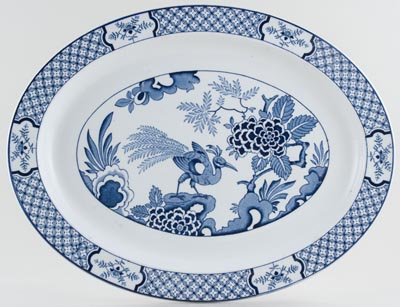 Woods Yuan Meat Dish or Platter c1920s and 1930s