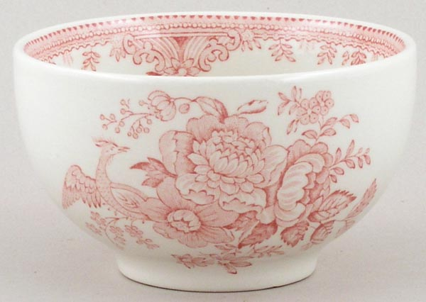 Burleigh Asiatic Pheasants pink Rice Bowl small