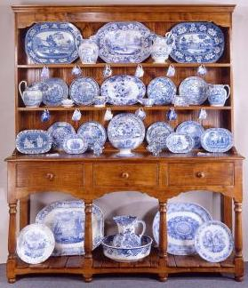 Blue and White China Showroom