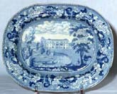 Meat Dish or Platter Tewin Water c1825