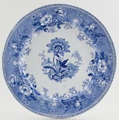 Elkin and Newbon Botanical Beauties Plate c1845