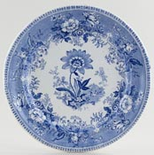 Elkin and Newbon Botanical Beauties Plate c1850