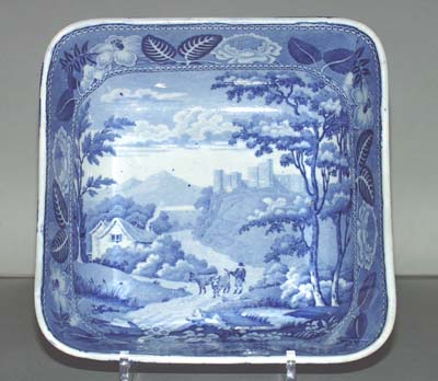 Ridgway British Scenery Series Serving Bowl c1820