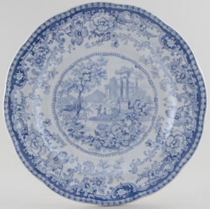 Unattributed Maker Antiquities Plate c1839