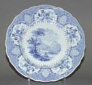 Lunch Plate Loch Lomond c1840