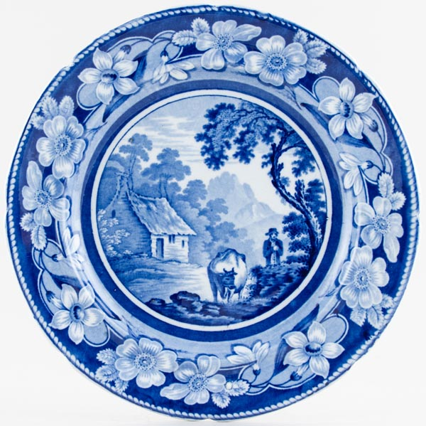 Ridgway The Cowman Plate c1825