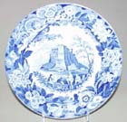 Dinner Plate View in Alicata c1825