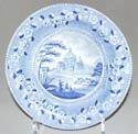 Side or Cheese Plate c1825