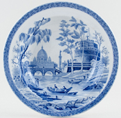 Spode Rome Soup Plate c1820