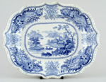 Meat Dish or Platter c1830