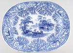 Meat Dish or Platter c1845