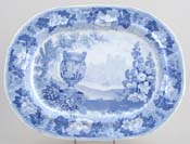Meat Dish or Platter Coughton Court c1830
