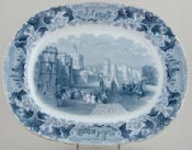 Meat Dish or Platter Windsor Castle c1850