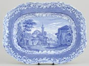 Meat Dish or Platter Patras c1840
