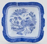 Spode Mandarin Toy Bread and Butter Plate c1898