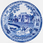 Rogers Camel Plate c1820
