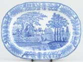 Meat Dish or Platter small c1825