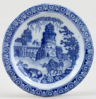 Rogers Monopteros Toy Plate c1825
