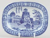 Toy Meat Dish or Platter c1825