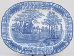Meat Dish or Platter c1825