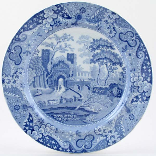 Clews Castle Plate c1820