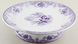 Wedgwood and Co Eagle lilac Cheese Stand c1860