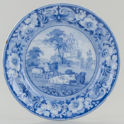 Plate Kirkham Priory c1820