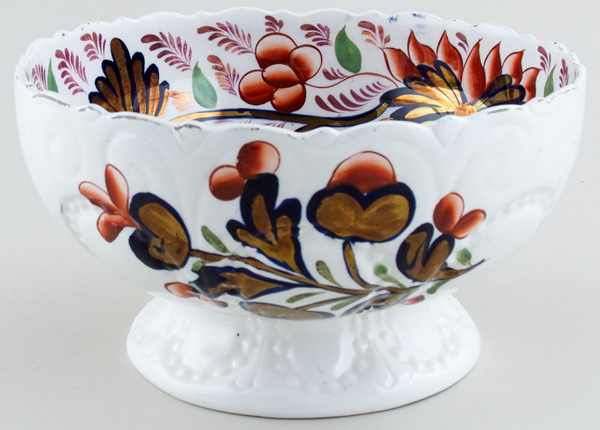 Unattributed Maker Grape colour Bowl with Foot c1840
