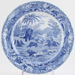 Plate Death of the Bear c1820