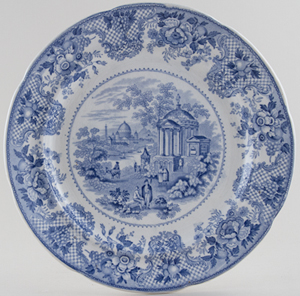 Robinson and Wood Venetian Scenery Plate c1835