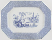 Meat Dish or Platter c1865