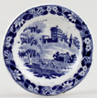 Hackwood Institution Toy Plate c1845