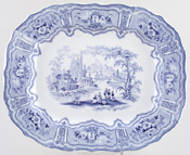 Meat Dish or Platter c1850