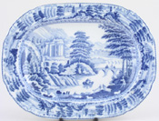 Meat Dish or Platter small c1820