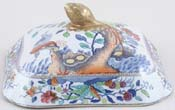 Vegetable Dish Cover c1820