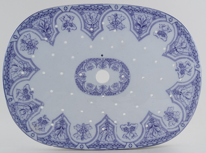 Unattributed Maker Unidentified Pattern lilac Drainer c1860
