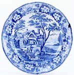 Plate Watermill c1820