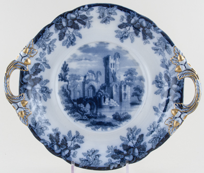 Spode Ruins Soup Tureen or Bowl Stand c1848